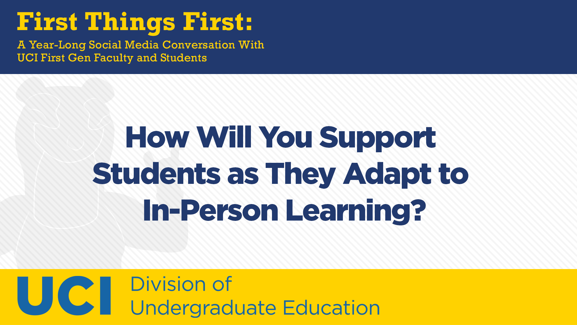 How Will You Support Students as They Adapt to In-Person Learning?